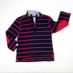 Hatley Toddler Boy Navy & Red Pullover 2T